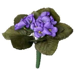 Bouquet Violeta 16cm Flor Arte
