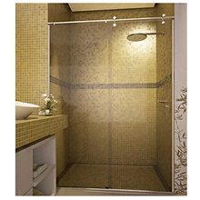 Box Frontal Vidro Incolor 2x1,4m Elegance Speed Temper