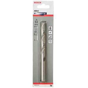 Broca P/ Metal Aço Rápido Brilhante Diâmetro 12 mm Comprimento Total 151 mm