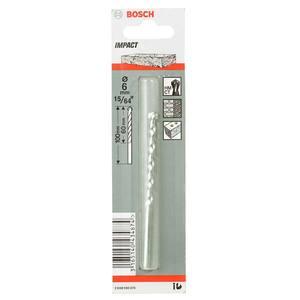 Broca P/Concreto Pedra Carbone Tungst Bril Diam 6 mm