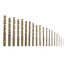 Broca para Metal 19 peças 1-10mm Dexter