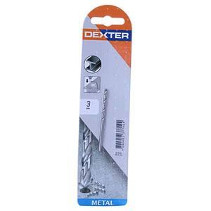 Broca Para Metal 3mm Dexter