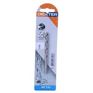 Broca Para Metal 6mm Dexter