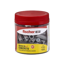 Bucha Alvenaria 4,5mm Fischer 100 peças