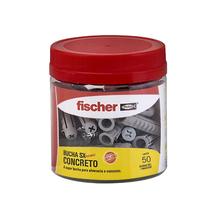 Bucha Alvenaria 4,5mm Fischer 50 peças