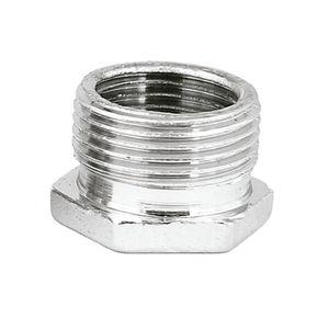 Bucha de Redução ABS Cromada Latão 3/4X1/2 Água Fria/Quente Romar