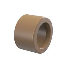 "Bucha de Redução Marrom PVC Água Fria 32mmx25mm ou 1""x3/4"" Plastilit"
