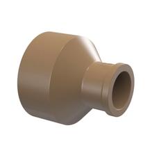 "Bucha de Redução Marrom PVC Água Fria 50mmx25mm ou 1.1/2""x3/4"" Plastilit"