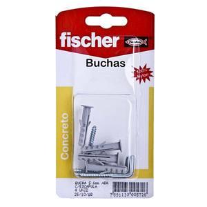 Bucha s6 30,00 mm escápula 4,00-5,00 mm ct c/4un fischer