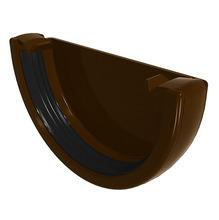 Cabeceira de PVC Classic Marrom Odem