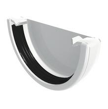 Cabeçeira de Pvc para Calha Branco 140x79x32mm Odem