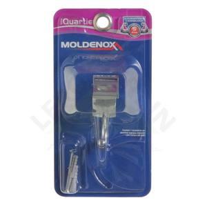 Cabide 1 Gancho Cromado Parafusar Moldenox