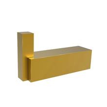Cabide 1 Gancho Metal Quartzo Gold