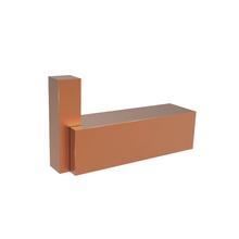 Cabide 1 Gancho Metal Quartzo Rose Gold