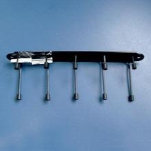 Cabide Aço  Preto 3,4X25cm
