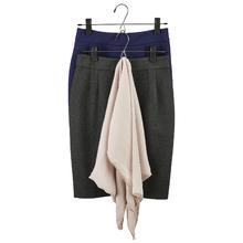 Cabide para Shorts, Saias e Vestidos Metal Preto Spaceo