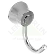 Cabide Prata Alumínio/ABS Parafusar Expambox