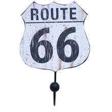 Cabideiro 1 Ganchos MDF Branco Route 66 Kapos