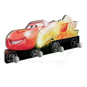Cabideiro Carros 17x40x6 cm