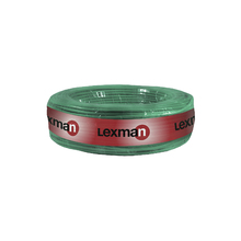 Cabo Flexível  10mm 15Metros Verde 750V Lexman