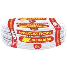 Cabo Flexível  4mm 100Metros Branco  Megatron