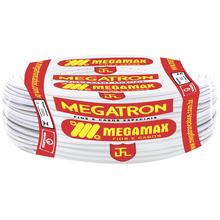 Cabo Flexível  6mm 100Metros Branco 750V Megatron