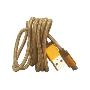 Cabo Micro USB Dourado 90cm Duracell