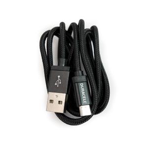 Cabo Micro USB Preto 90cm Duracell