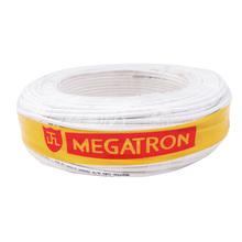 Cabo para Cerca Elétrica 5mm 22AWG 100Metros Branco Megatron