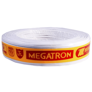 Cabo Paralelo  2x2,5mm 100Metros Branco  Megatron