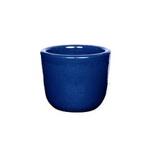Cachepot Cerâmica Americano Azul Pequeno