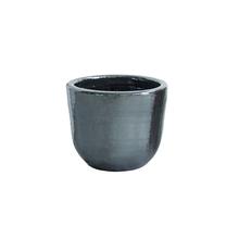 Cachepot Cerâmica Americano Cobre Pequeno