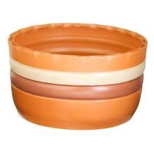 Cachepot Cerâmica Ipanema 13x24cm Natural Associação Adelino