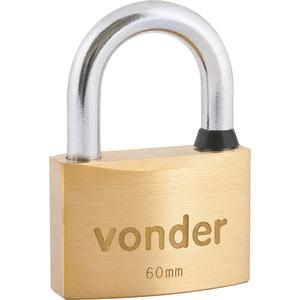 Cadeado com chave multiponto 60mm Vonder