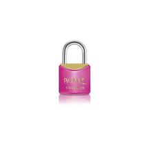 Cadeado com chave simples 30mm Rosa Papaiz