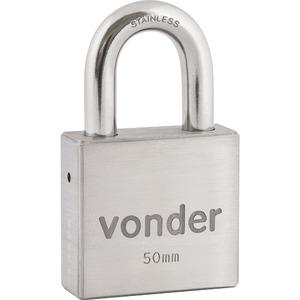 Cadeado com chave simples 50mm Vonder