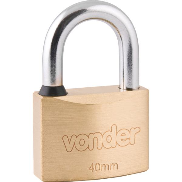 49512d4c6c Cadeado com chave tetra 40mm Vonder