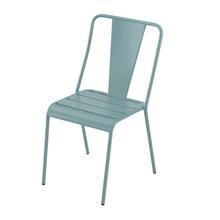 Cadeira Aço Candy Azul 83x49cm