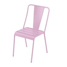 Cadeira Aço Candy Rosa 83x49cm