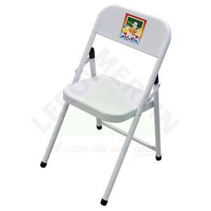 Cadeira Aço Sapeca Branca Metalmix