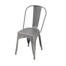 Cadeira Aço Soho Grafite 84x54cm