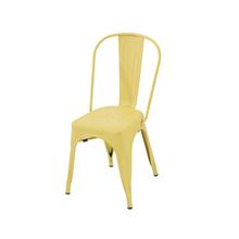 Cadeira Aço Soho Amarelo 84x54cm