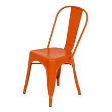 Cadeira Aço Soho Laranja 84x54cm