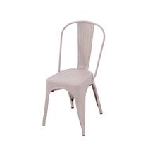 Cadeira Aço Soho Rosa Seco 84x54cm