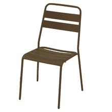Cadeira Aço Sweet Marrom 85x45cm