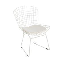 Cadeira Aço Tramma Branca 80x55cm