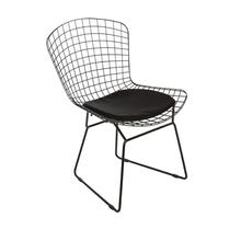 Cadeira Aço Tramma Preta 80x55cm