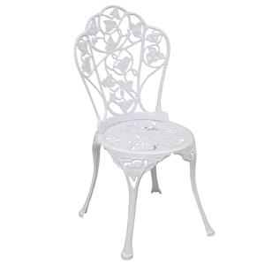 Cadeira Alumínio Hera Branco 70x40cm Angulo