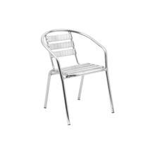 Cadeira Alumínio Prata 73x53cm