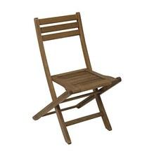 Cadeira Dobrável Mestra Eucalipto com FSC Stain Nogueira Mestra